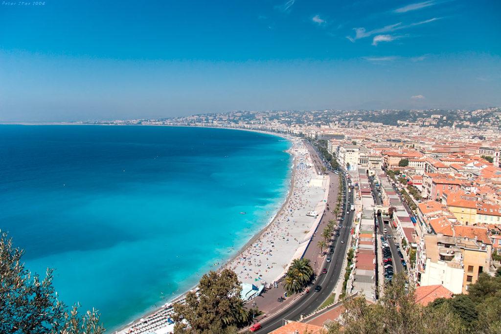 Путешествие на авто от Лиона до Ниццы