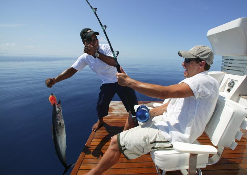 История моей потрясающей рыбалки в Средиземном море