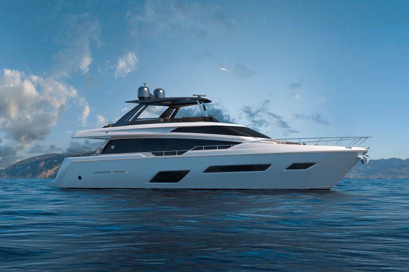 Новинки от судостроительной компании «Ferretti Yachts»